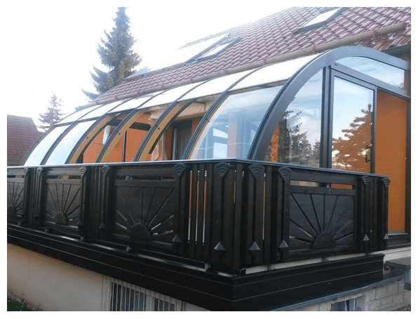 Wintergarten als Oase der Erholung aus  Haag