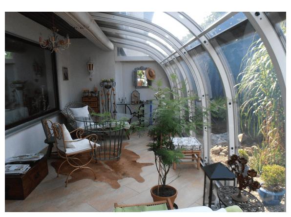 Wintergarten passend für jede Freifläche in 95119 Naila