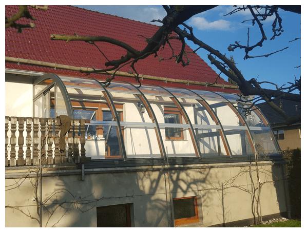 preiswerter Wintergarten